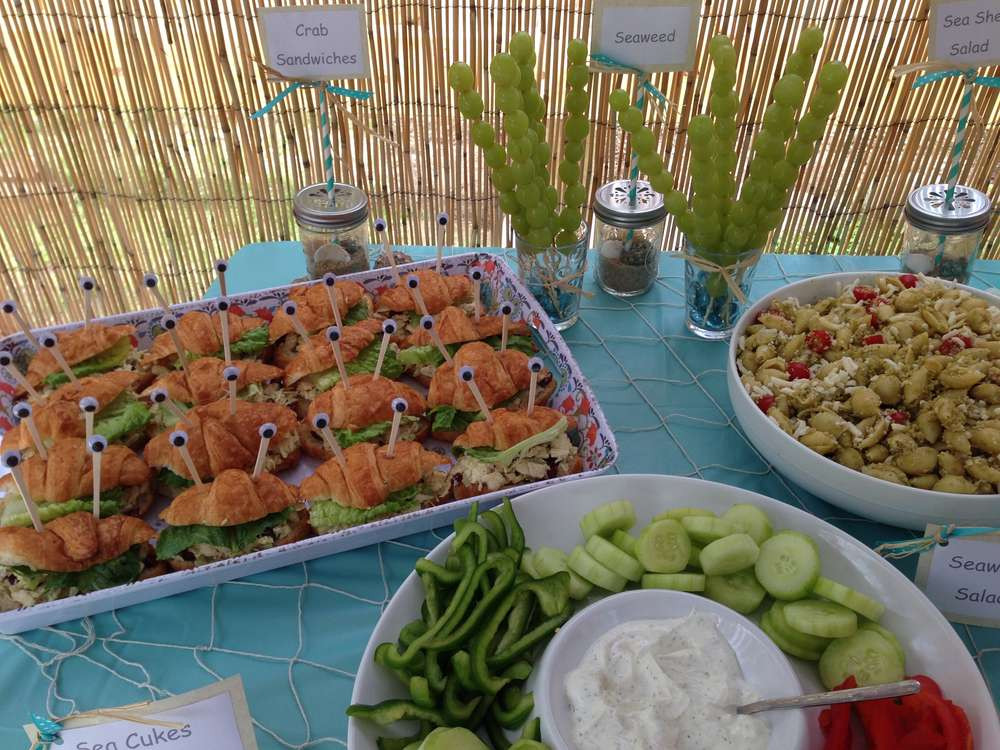 Food Ideas For A 2 Year Old Birthday Party  The Little Mermaid Birthday Party Ideas