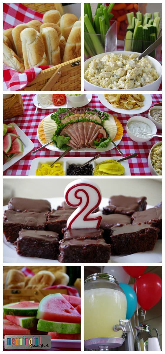 Food Ideas For A 2 Year Old Birthday Party  Picnic Birthday Party Ideas