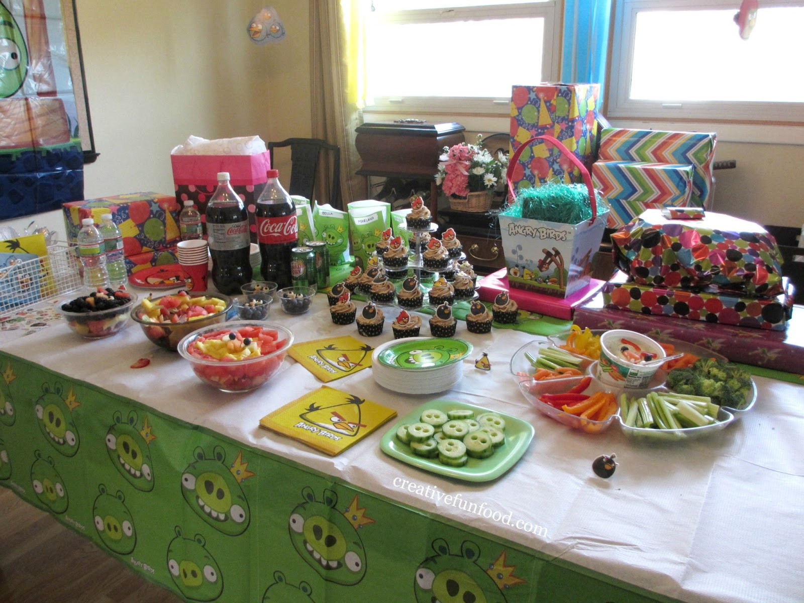 Food Ideas For A 2 Year Old Birthday Party  Creative Food Angry Birds Birthday Party Ideas
