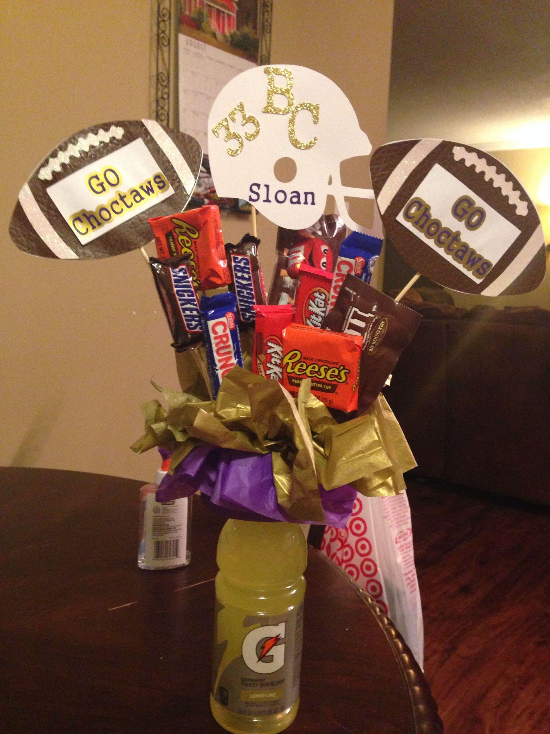 Football Gift Ideas For Boys  Good luck Football t