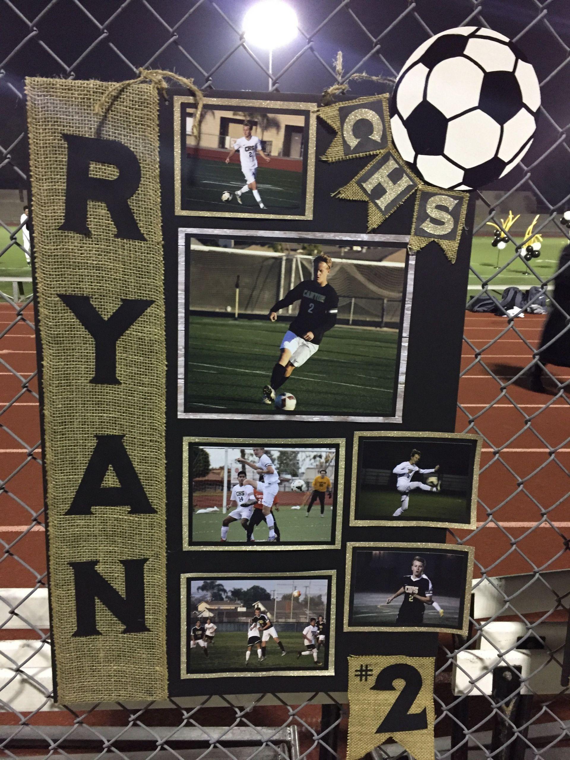 Football Gift Ideas For Boys  Soccer Senior Night