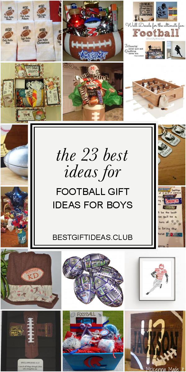 Football Gift Ideas For Boys  The 23 Best Ideas for Football Gift Ideas for Boys