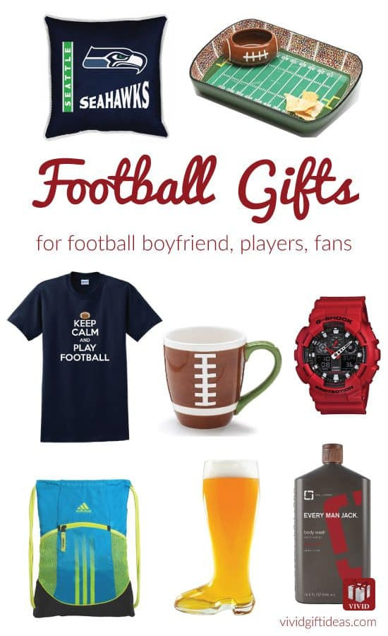 Football Gift Ideas For Boys  Top 11 Gift Ideas for Football Boyfriend [Updated 2018
