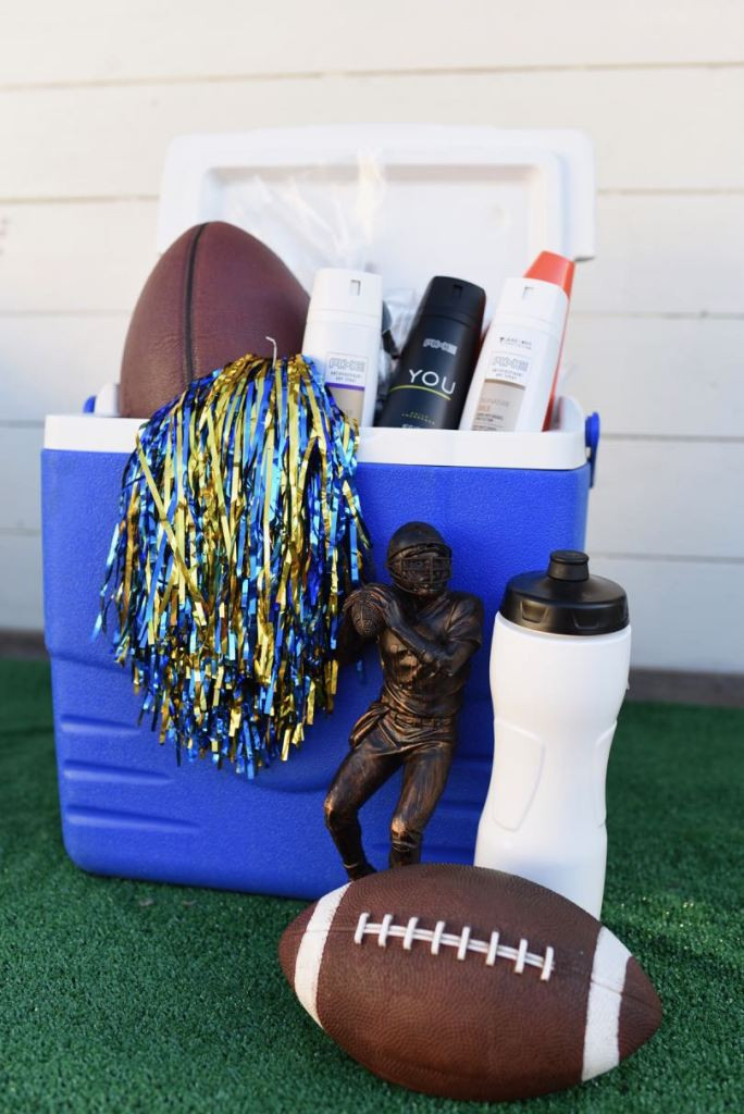 Football Gift Ideas For Boys  Fun Sports Easter Basket Ideas for boys and girls