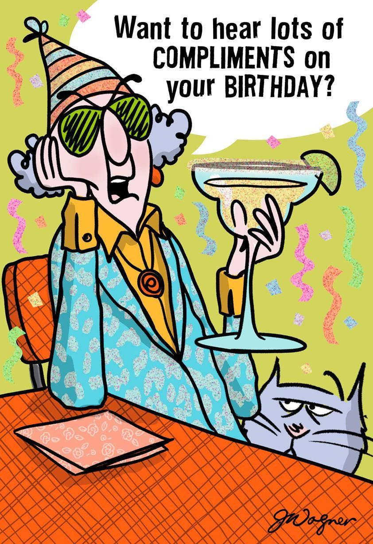 Free Printable Birthday Cards Funny  My pliments Funny Birthday Card Greeting Cards Hallmark