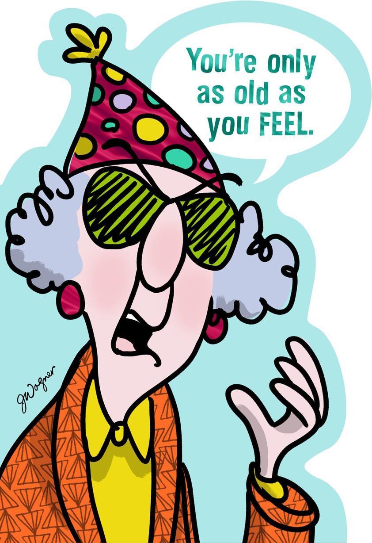 Free Printable Birthday Cards Funny  Feeling Old Funny Birthday Card Greeting Cards Hallmark