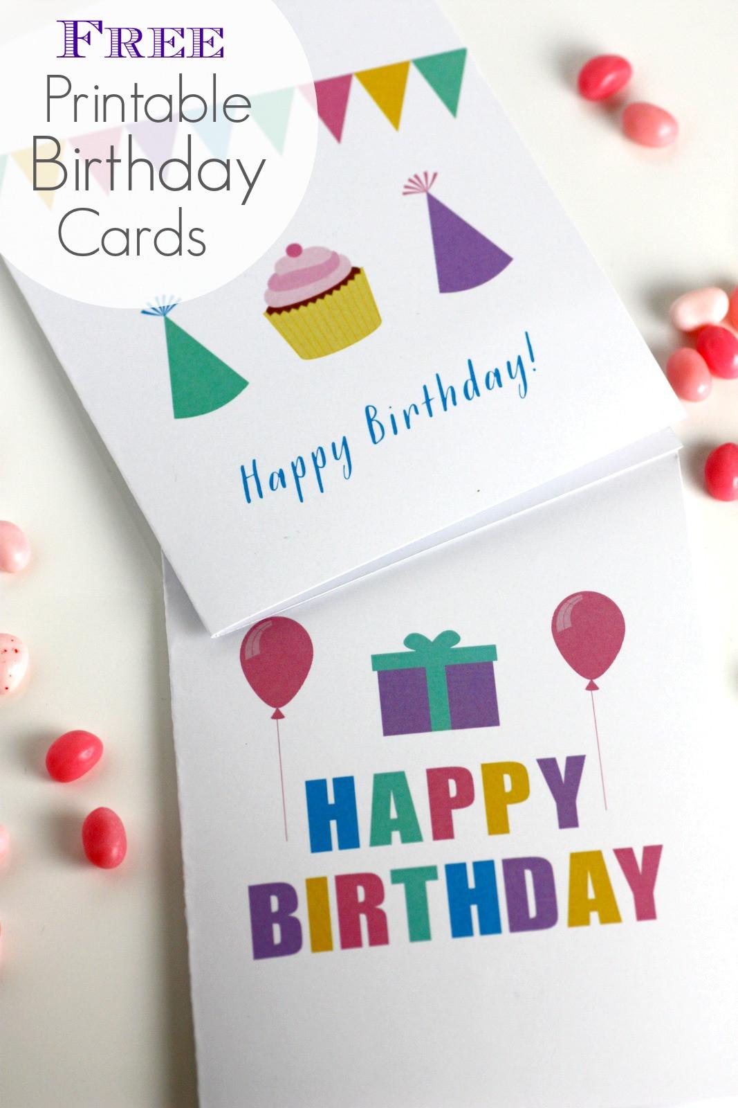 Free Printable Birthday Cards Funny  Free Printable Blank Birthday Cards