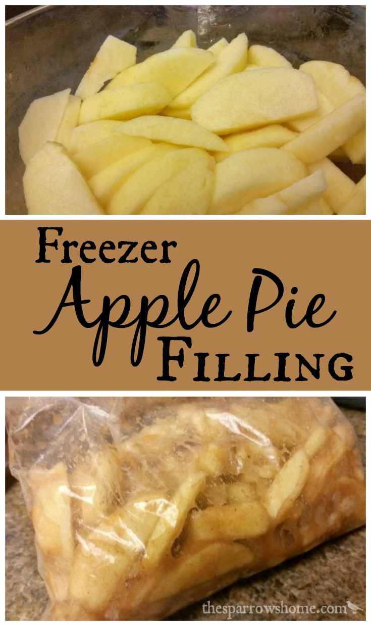 Freezer Apple Pie Filling  Freezer Apple Pie Filling