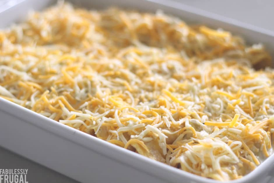 Freezer Chicken Enchiladas  Freezer Chicken Enchiladas Recipe So Easy Fabulessly