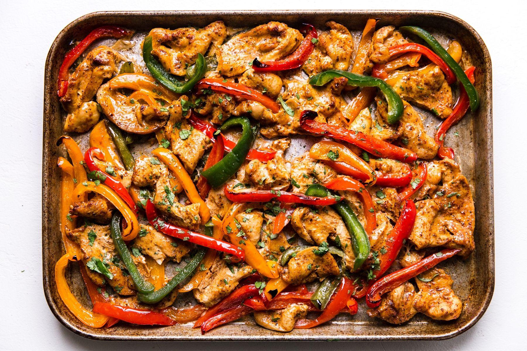 Freezer Chicken Fajitas  Freezer Chicken Fajitas Recipe in 2020
