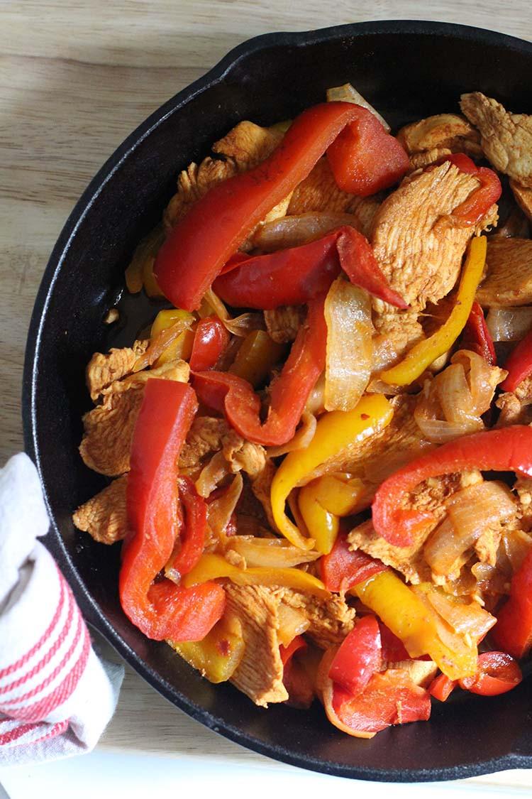 Freezer Chicken Fajitas  Make Ahead Freezer Chicken Fajitas – New Leaf Wellness