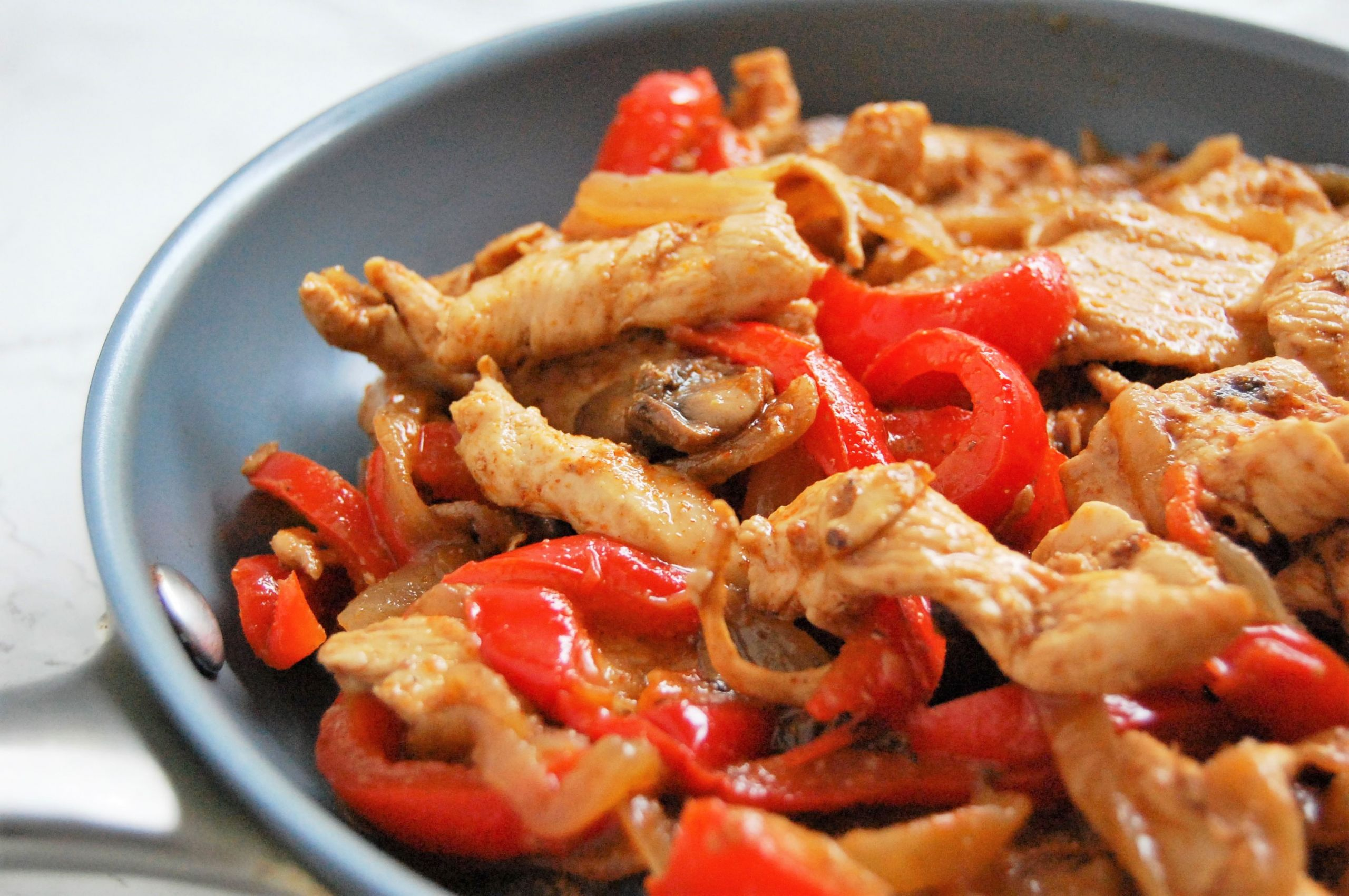 Freezer Chicken Fajitas  Freezer Fajita Chicken