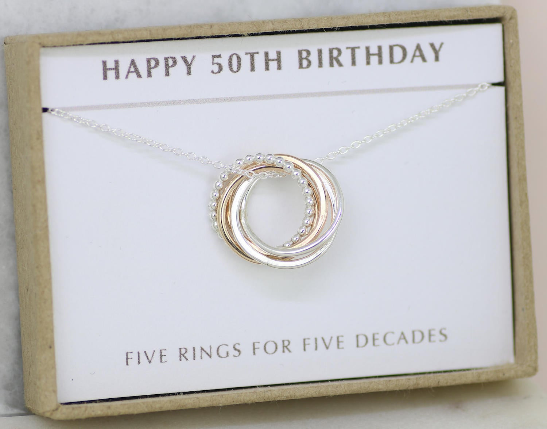 Friend 50Th Birthday Gift Ideas  50th birthday t 50th birthday jewelry 50th t for