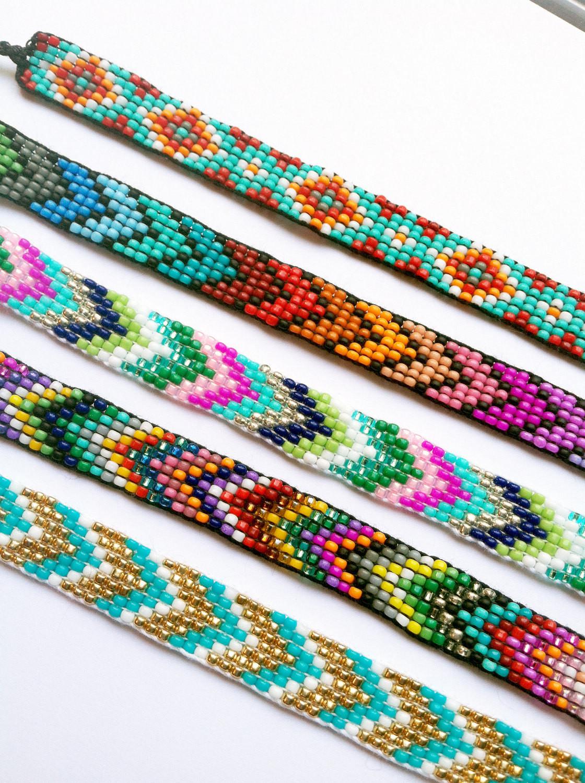 Friendship Bracelets With Beads  Handmade Beaded Friendship Bracelet