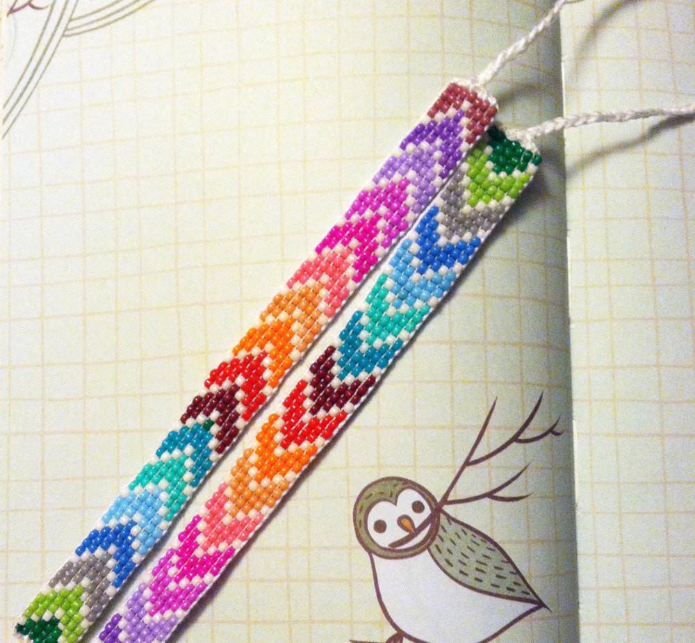Friendship Bracelets With Beads  Chevron Beaded Friendship Bracelet You by UnderThoseNeonLights