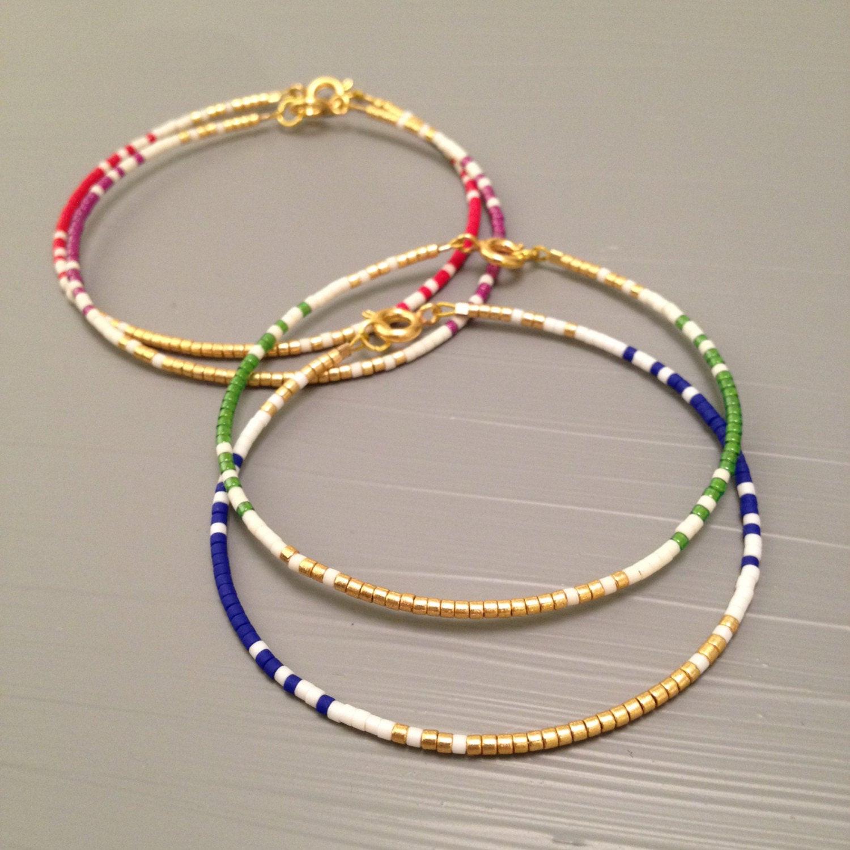 Friendship Bracelets With Beads  Friendship Bracelet Beaded friendship bracelet Seed Bead