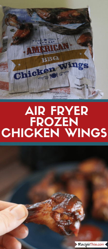Frozen Chicken Wings In Airfryer  How To Cook Frozen Chicken Wings In The Air Fryer