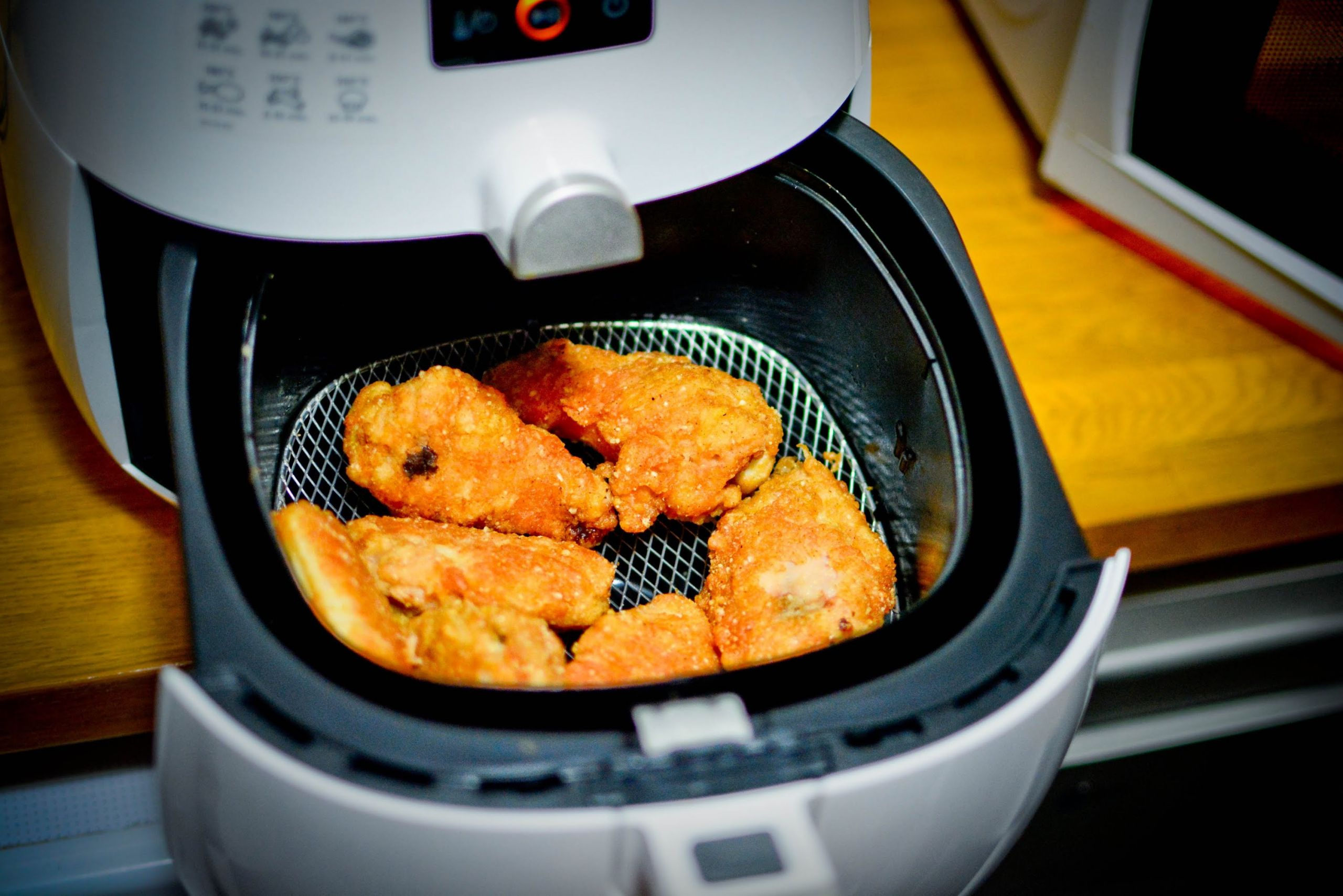 Frozen Chicken Wings In Airfryer  How To Cook Frozen Chicken Wings In Airfryer Air Fryer