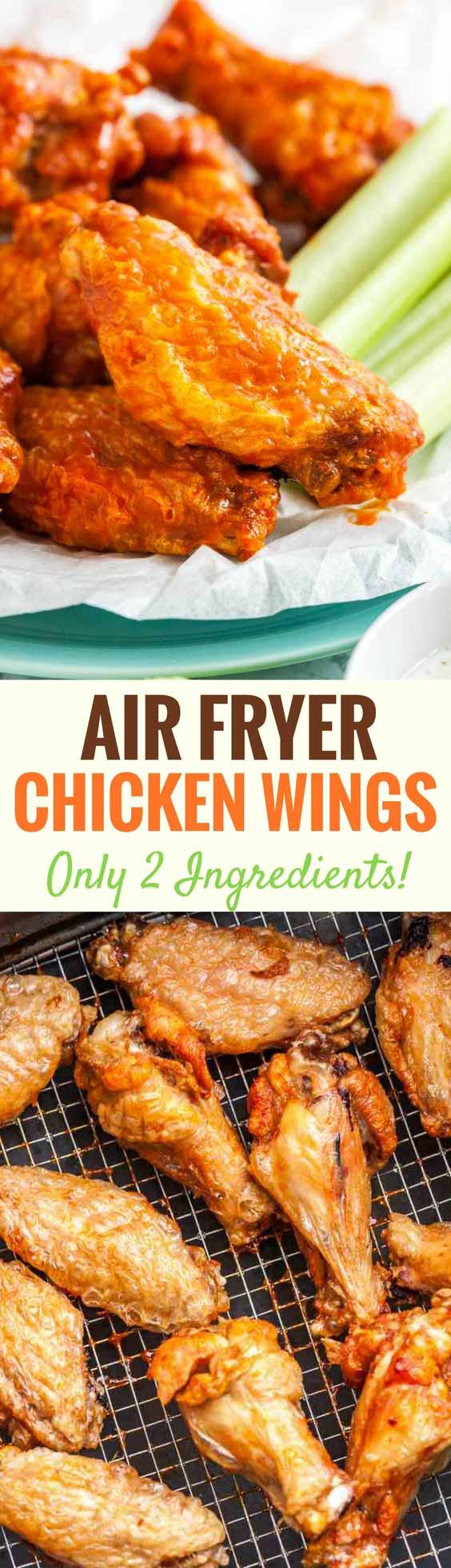 Frozen Chicken Wings In Airfryer  Air Fryer Chicken Wings Extra Crispy