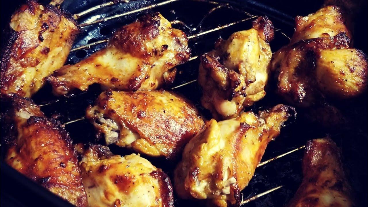 Frozen Chicken Wings In Airfryer  From Frozen Pre Seasoned Air Fryer Chicken Wings Cooks