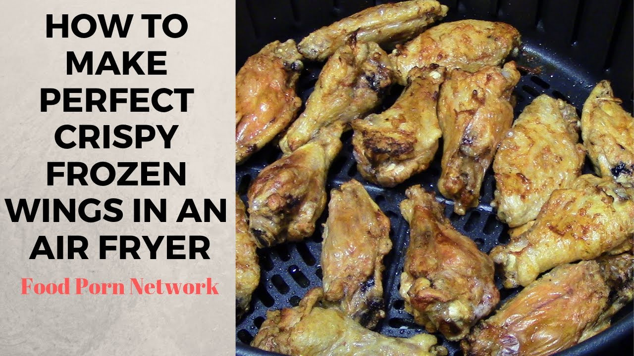 Frozen Chicken Wings In Airfryer  How to make Frozen Air Fryer Chicken Wings