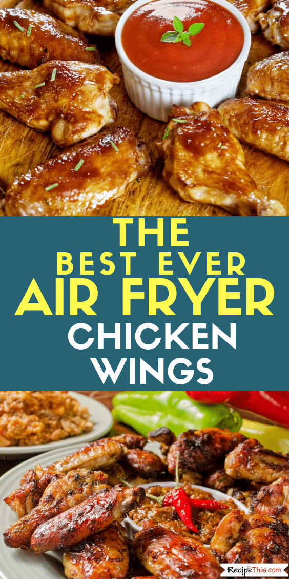 Frozen Chicken Wings In Airfryer  How To Cook Frozen Chicken Wings In The Air Fryer • Recipe