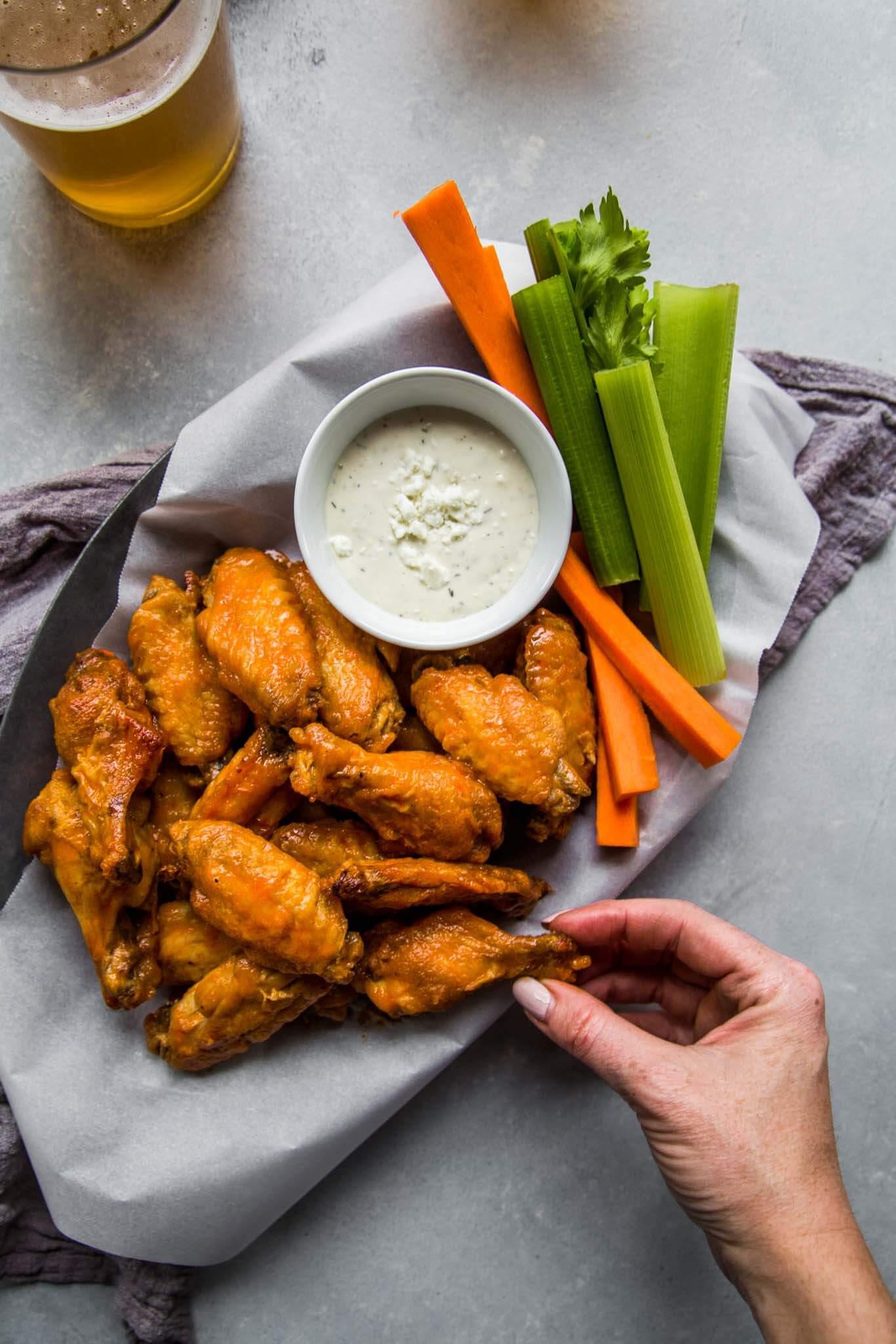 Frozen Chicken Wings In Airfryer  The top 20 Ideas About Frozen Chicken Wings In Air Fryer