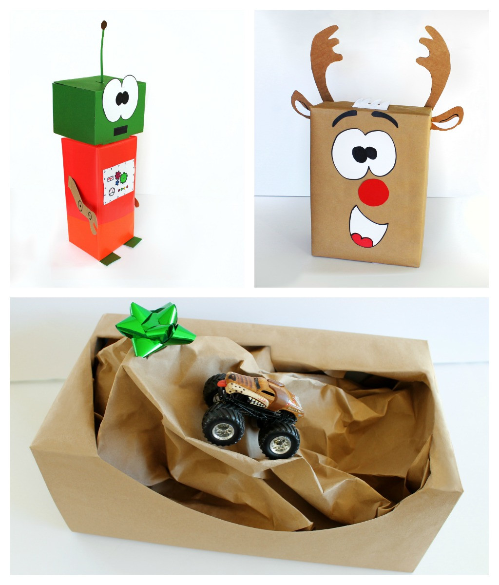 Fun Gift Ideas For Kids  creative t wrap ideas for kids craft art ideas