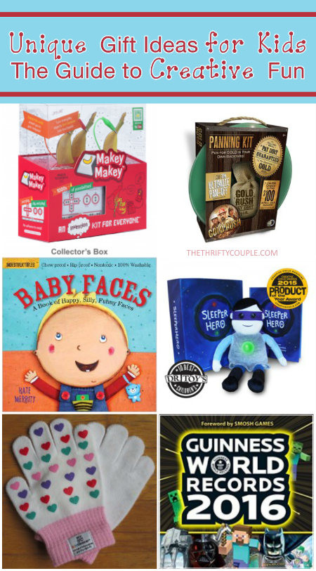 Fun Gift Ideas For Kids  Unique Gift Ideas for Kids The 2015 Guide To Creative Fun