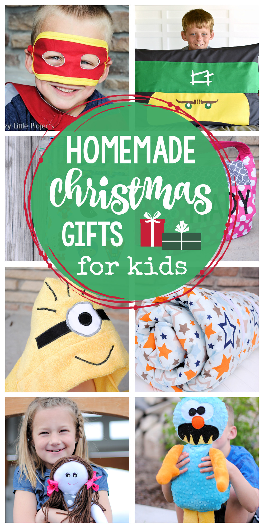 Fun Gift Ideas For Kids  25 Homemade Christmas Gifts for Kids Crazy Little Projects