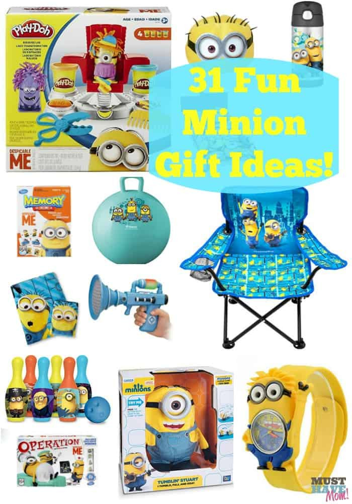 Fun Gift Ideas For Kids  31 Minion Gift Ideas For Kids Must Have Mom