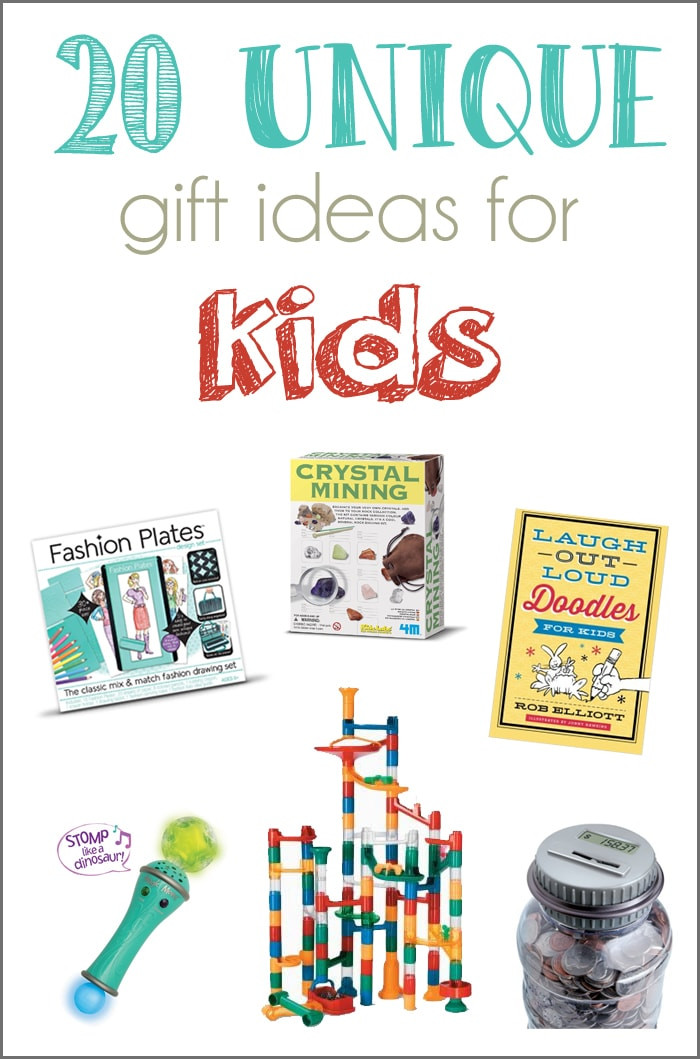 Fun Gift Ideas For Kids  20 Unique Gift Ideas for Kids and a GIVEAWAY Cutesy Crafts