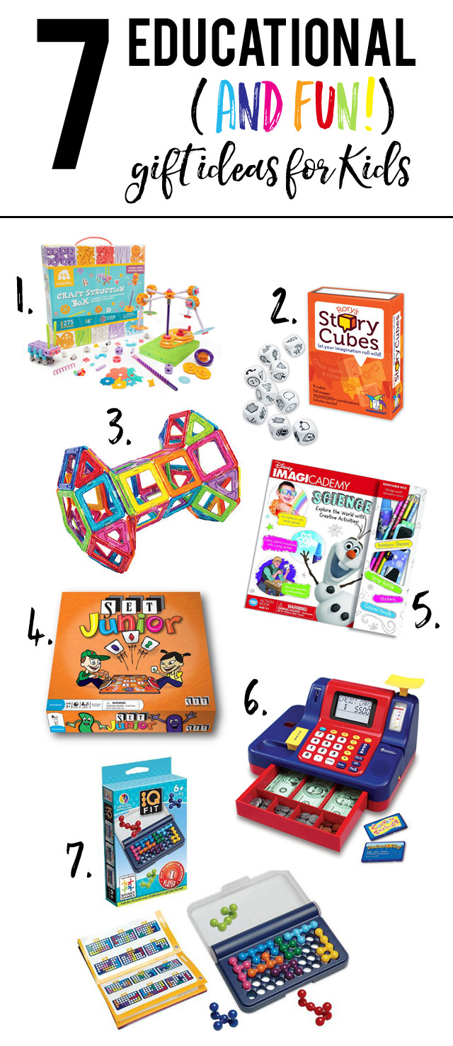 Fun Gift Ideas For Kids  Educational and Fun Gift Ideas for Kids My Sister s
