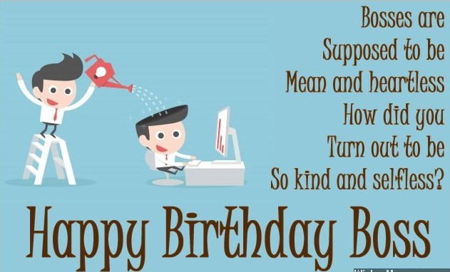 Funny Boss Birthday Cards  30 Best Boss Birthday Wishes & Quotes with