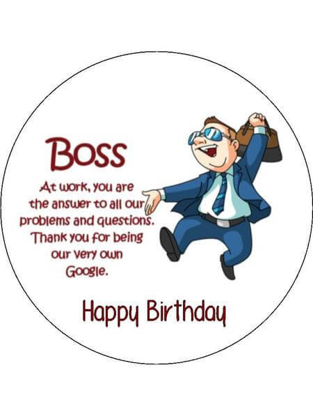 Funny Boss Birthday Cards  TOP Happy Birthday Wishes Quotes for Boss FungiStaaan