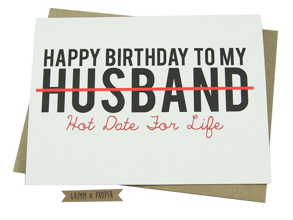 Funny Sexy Birthday Cards  Husband Birthday Card Loving Funny For Him Hot y