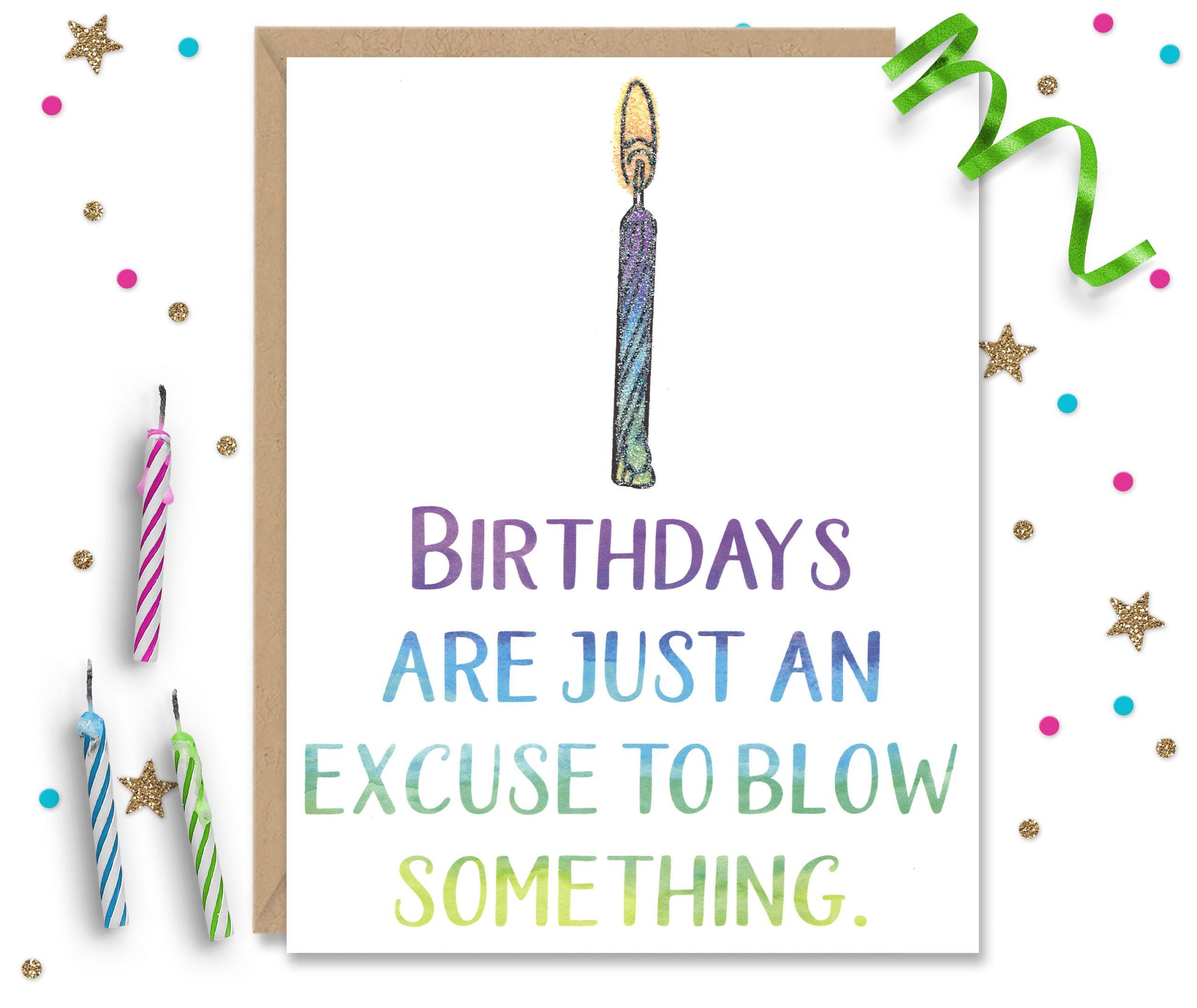 Funny Sexy Birthday Cards  Funny Birthday Card y Birthday Naughty Card Card for
