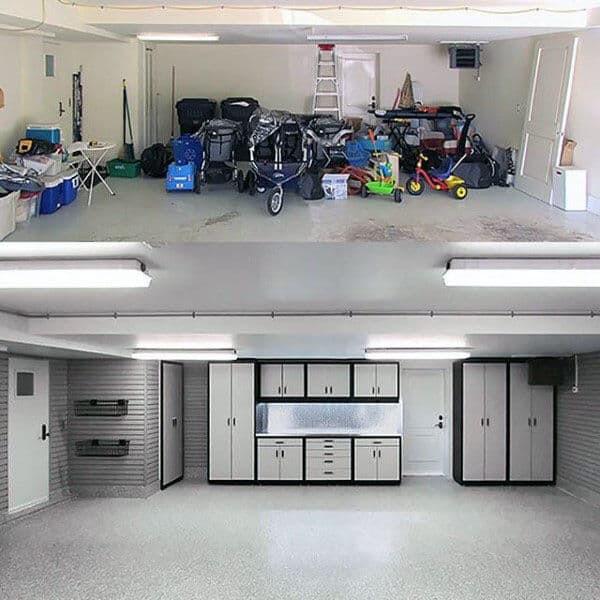 Garage Organization Ideas  100 Garage Storage Ideas for Men Cool Organization And