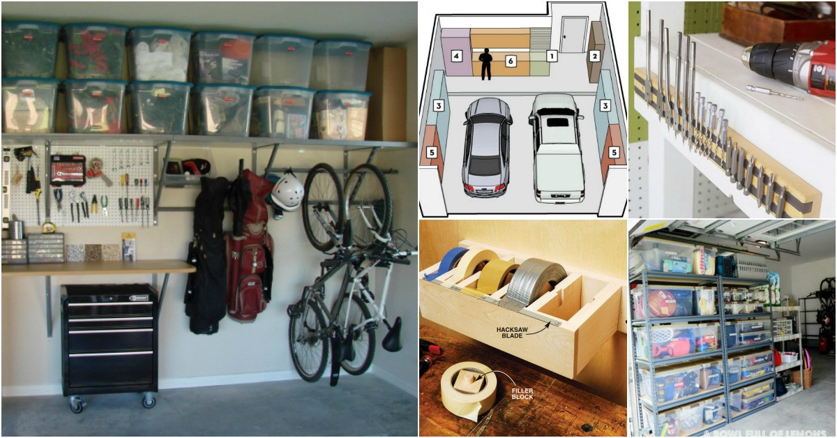Garage Organization Ideas  49 Brilliant Garage Organization Tips Ideas and DIY