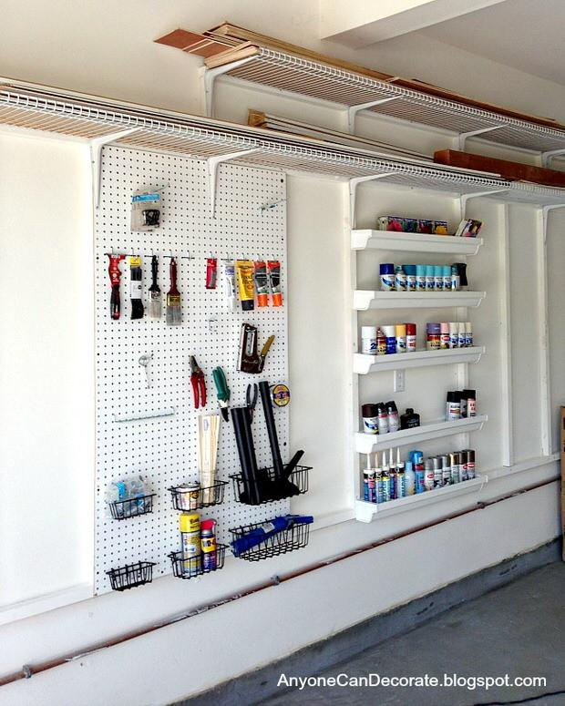 Garage Organization Ideas  Garage Storage on a Bud • The Bud Decorator