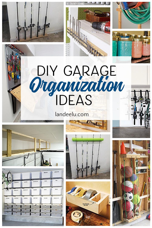 Garage Organization Ideas  Awesome DIY Garage Organization Ideas landeelu