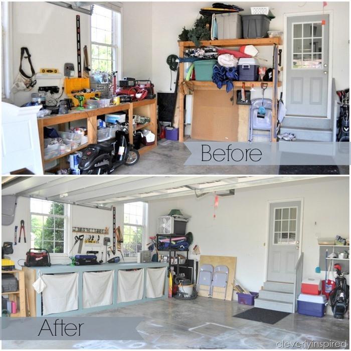 Garage Organization Ideas  10 inexpensive tips to organize the garage