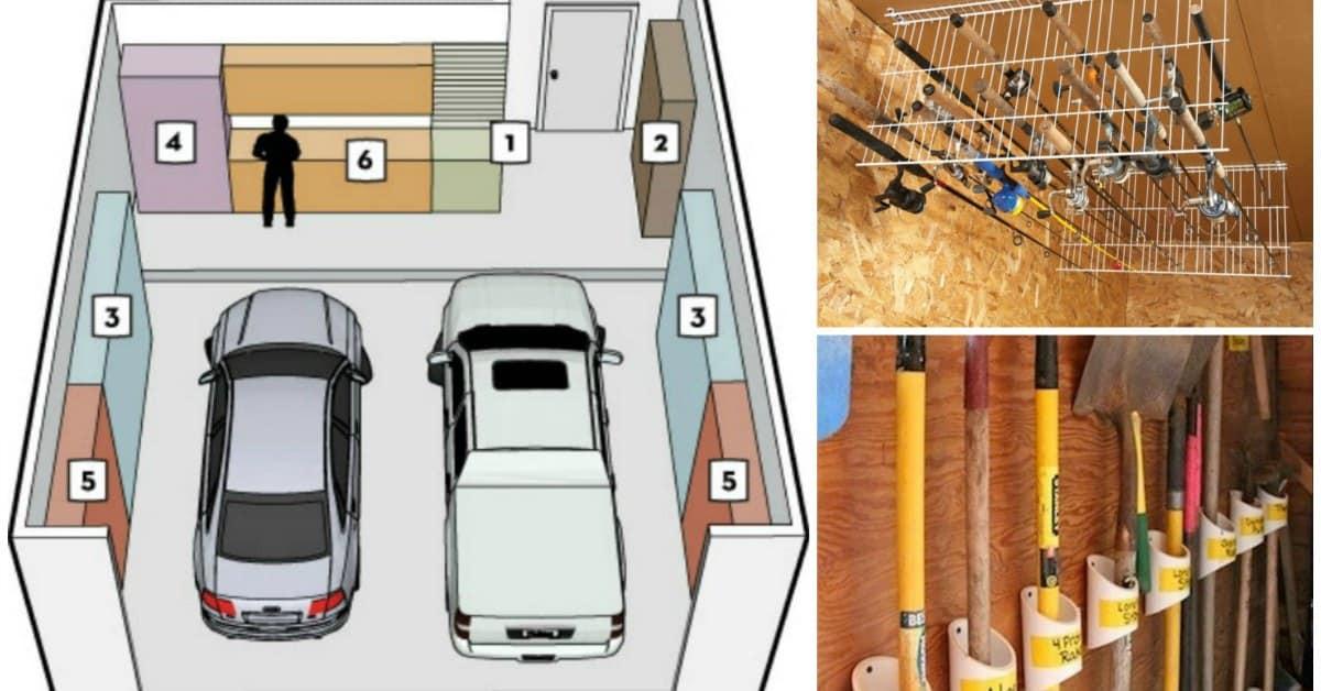 Garage Organization Ideas  42 Best Garage Organization Ideas – DIY Cozy Home