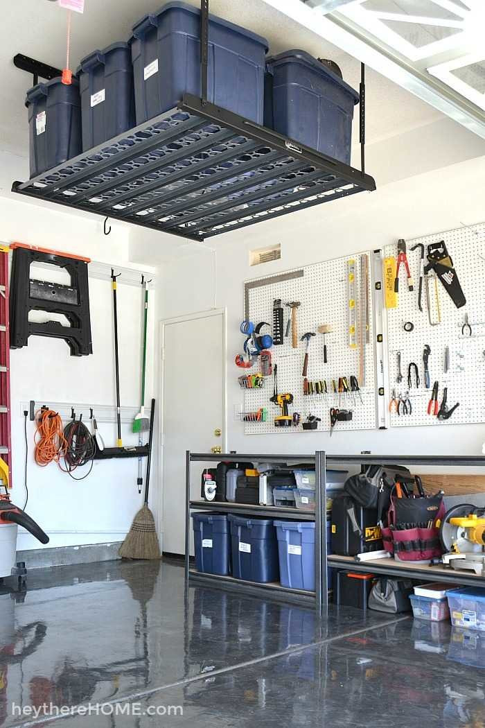 Garage Organization Ideas  Our Organized Garage The Reveal