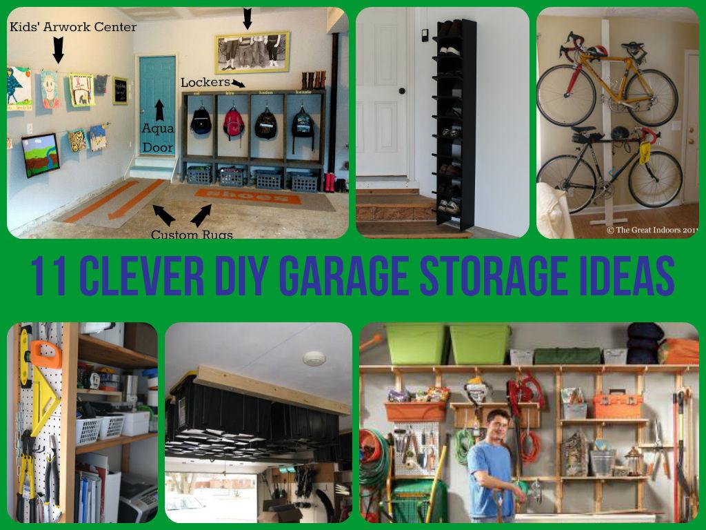 Garage Organizer Ideas Diy  11 Clever Garage Storage Ideas
