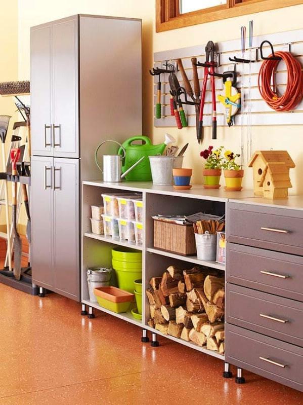 Garage Organizer Ideas Diy  49 Brilliant Garage Organization Tips Ideas and DIY
