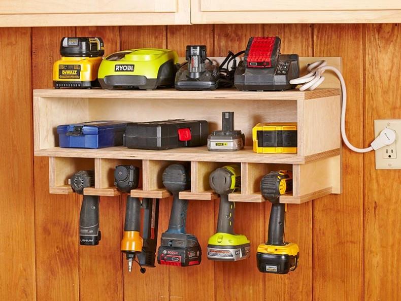 Garage Organizer Ideas Diy  16 Brilliant DIY Garage Organization Ideas
