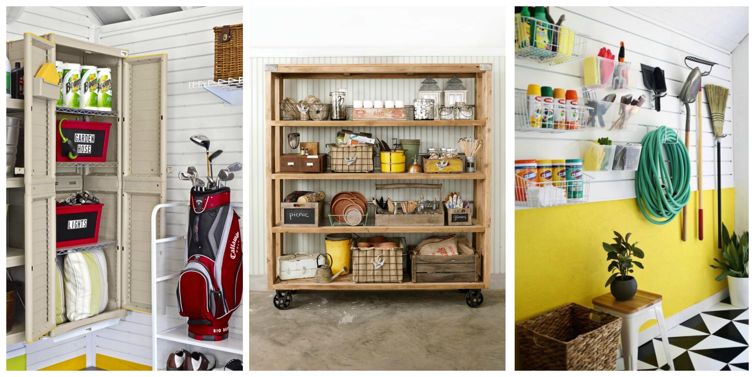 Garage Organizer Ideas Diy  14 of the Best Garage Organization Ideas on Pinterest