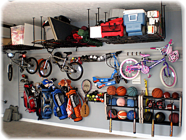Garage Sport Organizer  Garages Are Not Just For Cars Anymore – Advice The House