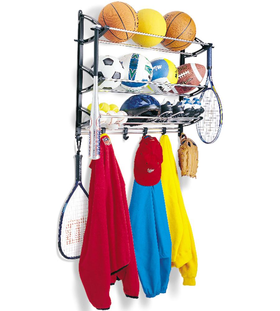 Garage Sport Organizer  Sports Equipment Storage Rack in Sports Equipment Organizers